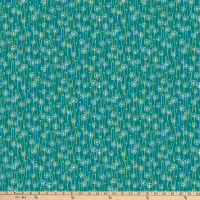 FIGO  Mountain Meadow Dandelions Field Teal/Multi