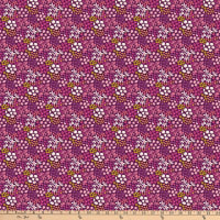 FIGO  Mountain Meadow Ditsy Drift Purple/Multi