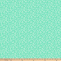 FIGO  Mountain Meadow Star Flowers Turquoise