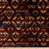 Southwest Chenille Apache Midnight