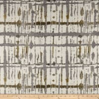 Maddox Chenille Abstract Gray/Yellow