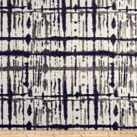 Maddox Chenille Abstract Blue/Gray