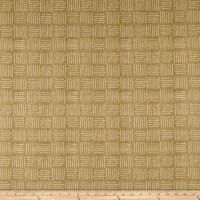 Designer Abstract Square Basketweave Cashew