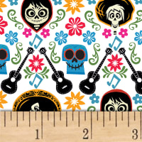 Disney Coco Guitar Toss White