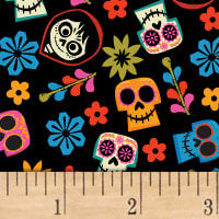 Disney Coco Skull Toss Black