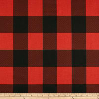 Premier Prints Buffalo Check Red/Black