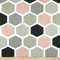 Premier Prints Hexagon Blush
