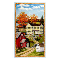 "Wilmington Autumn Grove Large 24"" Panel Multi"