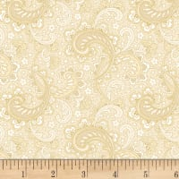 Cream And Sugar Viii Paisley Beige