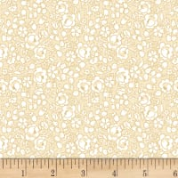 Cream And Sugar Viii Rose Floral Beige