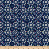 Crafty Studio Pinwheel Dressmaker Navy