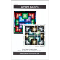 Northcott Stonehenge Digital Ombre Cabins Pattern