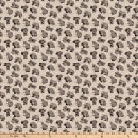 Northcott  Woodland Pitter Patter Racoon Toss Mid Taupe/Multi