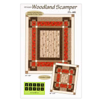 Northcott Woodland Pitter Patter Woodland Scamper Pattern
