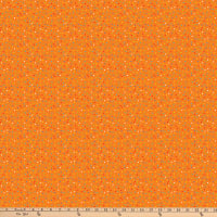 Northcott  Big Bang Random Dots Orange