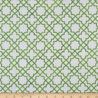 Northcott  Blossoming Beauties Grid Green