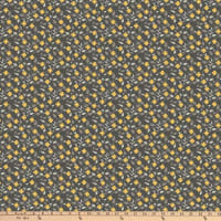 Northcott  Bittersweet in Gray Flower Toss Charcoal/Multi