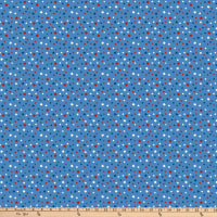 Northcott  Howl for Freedom Large Stars Blue/Multi