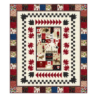 Northcott Canadian Classics Canada My Home Pattern Multi