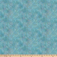 Northcott Dragonfly Moon Royal Garden Turquoise