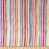 Timeless Treasures Isabelle Watercolor Stripe Multi