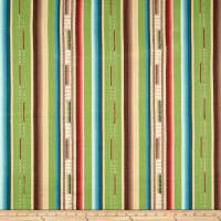 Laura & Kiran Southwest Stripes Satillo Stripe Basketweave Spring Green