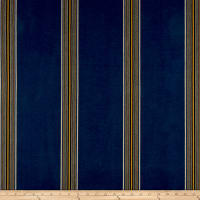 Laura & Kiran Southwest Stripes Lone Tree Stripe Blue