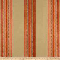 Laura & Kiran Southwest Stripes Quintana Stripe Tan/Red