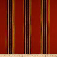 Laura & Kiran Southwest Stripes Tacoma Stripe Red Multi