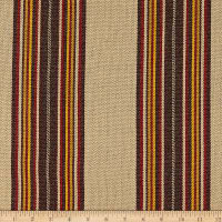Laura & Kiran Southwest Stripes Yuma Stripe Red Multi