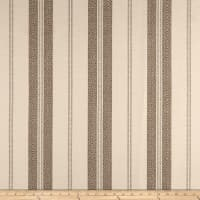Laura & Kiran Southwest Stripes Berber Stripe Tan on White
