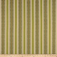 Laura & Kiran Outwest Stripes Temple Basketweave Green