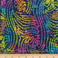 Mirage Batik Swirl Blue/Multi