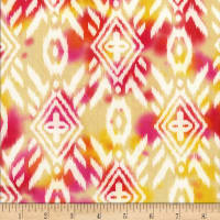 Sierra Nevada Batik Large Ikat Yellow/Orange