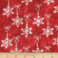 Banyan Batiks Winter Light Fireside Red