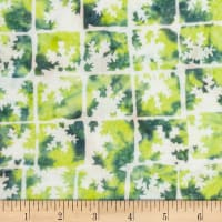 Banyan Batiks Winter Light Frostbite Green/Yellow