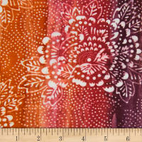 Banyan Batiks Mary Pink/Orange