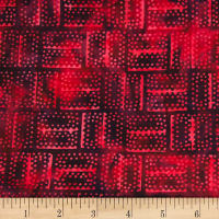 Banyan Batiks Mary Red/Black