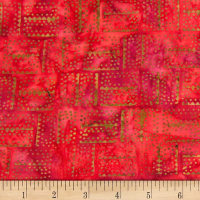 Banyan Batiks Mary Red/Brown