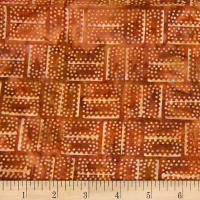 Banyan Batiks Mary Dark Rust