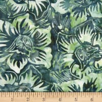 Banyan Batiks Mary Teal/Green