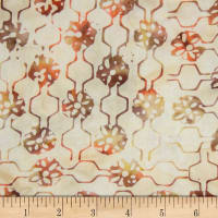Banyan Batiks Mary Rust/Cream