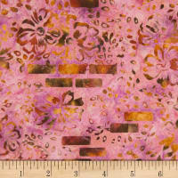 Banyan Batiks Mary Pink/Dark Orange