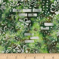 Banyan Batiks Mary Rust Green