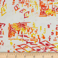 Banyan Batiks Recess Yellow/Red