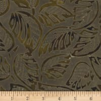 Banyan Batiks Roses and Thorns Earth Brown