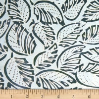 Banyan Batiks Roses and Thorns Mint Teal/Green