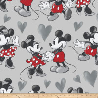 Disney Mickey and Minnie Vintage Fleece Fun With Mickey And Minnie Multi