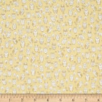 Kokka Putite Colle Double Gauze Owls Yellow