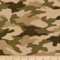 Kaufman Sevenberry Camouflage Flannel Camouflage